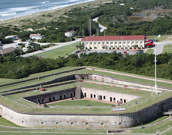 Fort Macon State Park at Emerald Isle